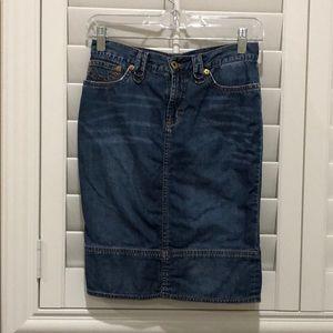 Authentic D&G Denim Pencil Skirt